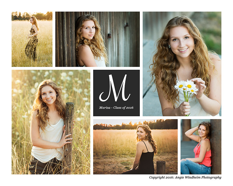 Marisa Whitley, Sherwood High School Senior, portraits by Angie Windheim Photography